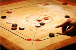 Carrom Aiming Technique And Trick Shot